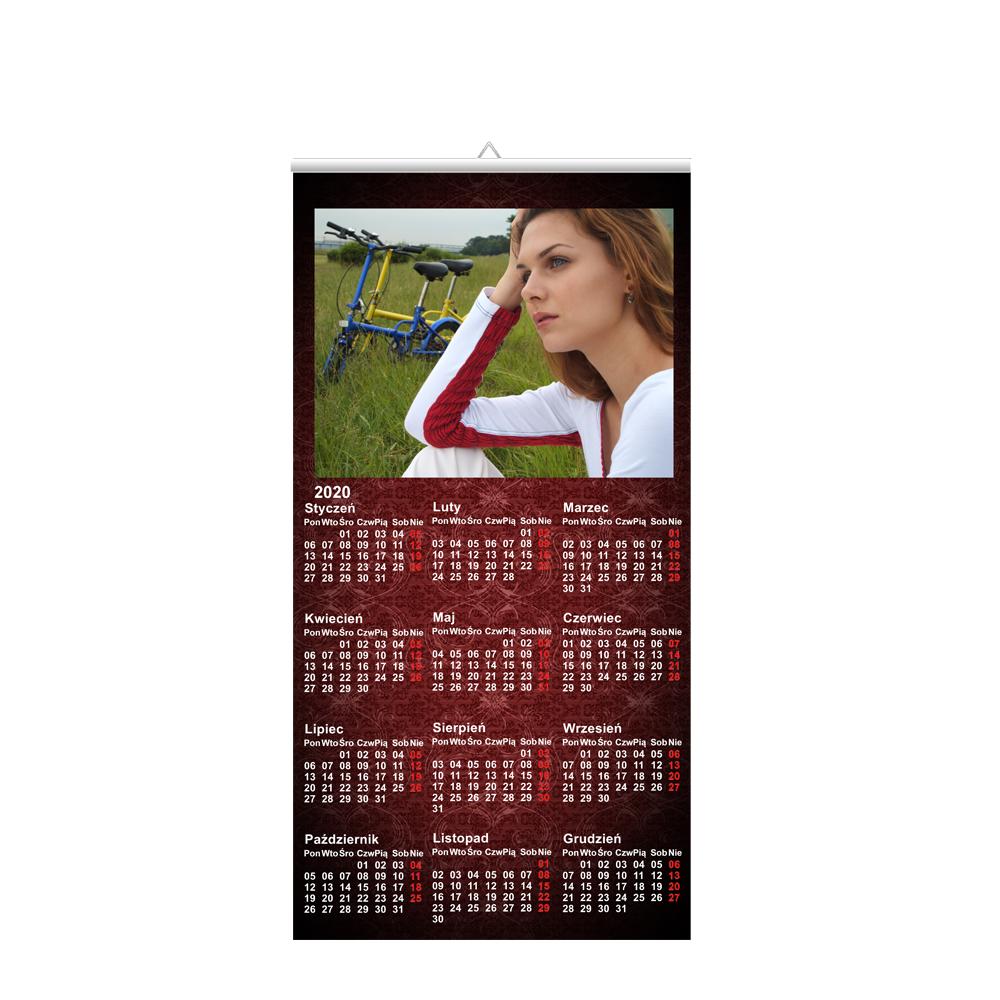 Kalendarz wiszący 30x60cm